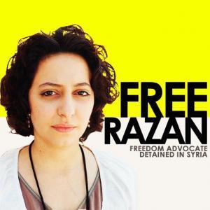 Syrie: la blogueuse Razan Ghazzawi a été libérée dimanche dans Monde free1