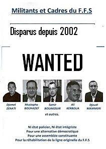 Disparus depuis 2002... dans Non classé affiche