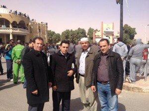 Abbes Abdelhamid, Brahim Meziani, Hamou Mesbah et Chafaa Bouaiche